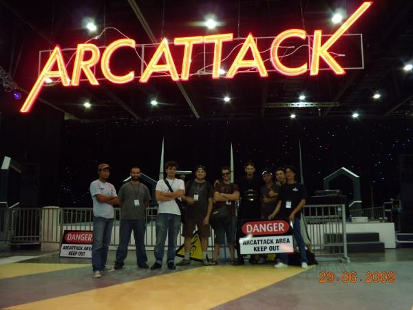 ArcAttack arrives in Abu Dhabi